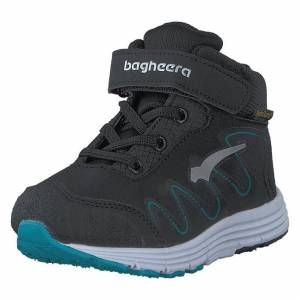 Bagheera Viper Black/turquoise, Barn, Shoes, svart, EU 20