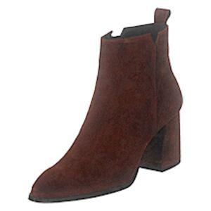 Bianco Biadonata Ankle Boot Cognac 1, Shoes, brun, EU 38