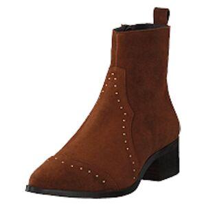 Bianco Biadora Western Ankle Boot Cognac 1, Shoes, brun, EU 36