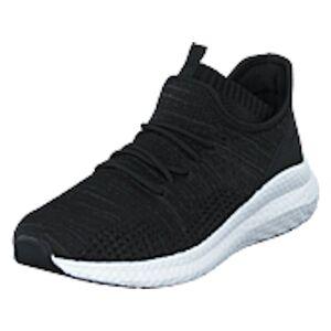 Bianco Biadelana Knit Sneaker Black 4, shoes, svart, EU 36