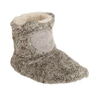 Universal Textiles Womens/damer Owl Design Boot tofflor