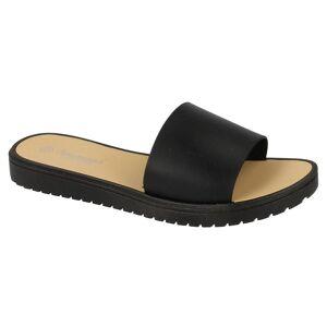 Savannah Womens/damer öppna tå Slip på Mule sandaler