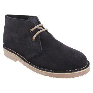 Roamers Roamingtaxorna vuxna Unisex äkta mocka ofodrad Desert Boots