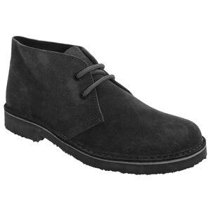 Roamers Roamingtaxorna Womens/damer äkta mocka runda tå ofodrade Desert Boots