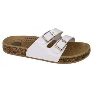 SPOTON Plats på Womens/damer två spänne Mule sandaler