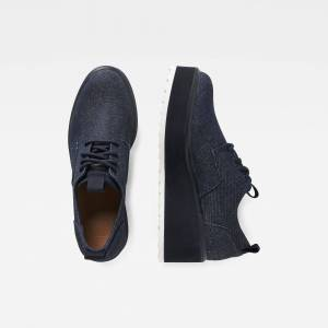 G-Star RAW Strett Flatform Derby Denim Sneaker