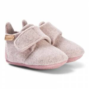Bisgaard Home Shoe - Wool Star Blush 26 EU