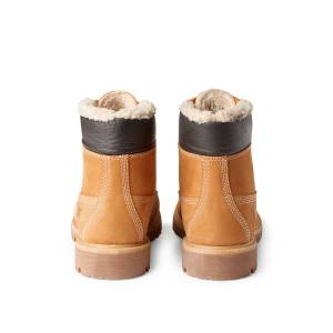Premium Fur Boots - Yellow