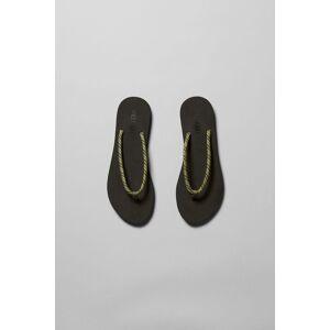 Flip Cord Flip- Flops - Black