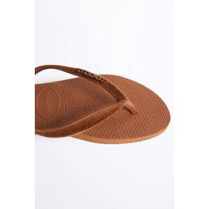 Gina Tricot Havaianas velvet flip flops