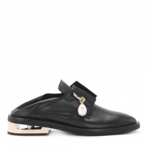 Coliac Nathan leather jewel loafer