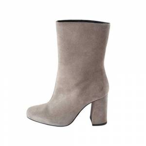 Bianco Boots Suede