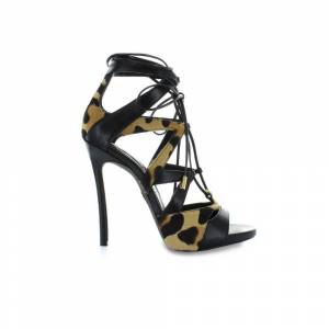Dsquared2 TIE ME UP Animalier Sandal