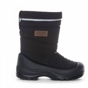 Gulliver Kids Boot Waterproof Wool Lining Svart