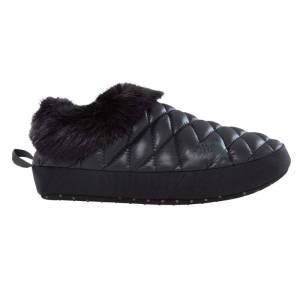 The North Face Women's ThermoBall Tent Mule Faux Fur IV Svart