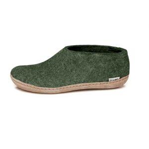 Glerups Shoe Classic Leather Sole Grön