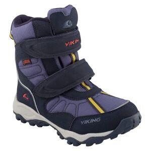 Viking Footwear Kid's Bluster II Gore-Tex Blå
