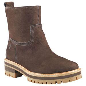 Timberland Women's Courmayeur Valley Faux Fur Boot Brun