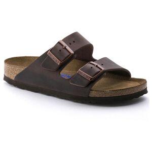 Birkenstock Arizona Oiled Nubuck Leather Soft Footbed Regular