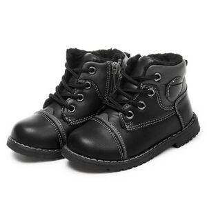 iEnjoy Svarta barn skor i konstläder