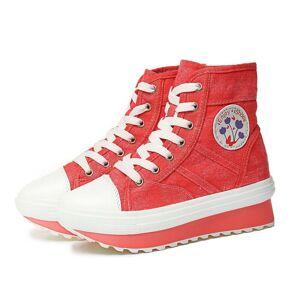 iEnjoy Sneakers med 5 cm sulor