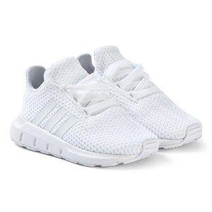 adidas Originals Swift Run Sneakers Vit Barnskor 35 (UK 2.5)