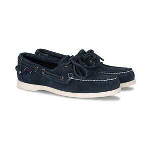 Sebago Docksides Suede Boat Shoe Navy