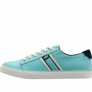 Helly Hansen Women's Salt Flag F1 Colorful Canvas Shoe   36 Blue