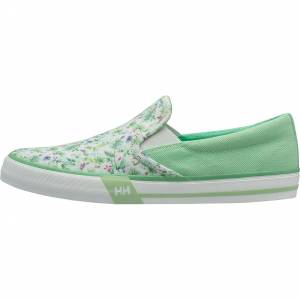 Helly Hansen W Copenhagen Slipon Shoe 39.3/8 Green