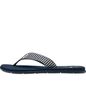 Helly Hansen Women's Iris Stylish Rubber Flip-flop Sandal   40.5 Navy