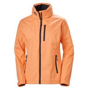 Helly Hansen W Crew Hooded Jacket S Orange
