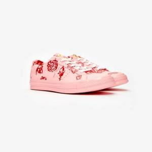 Converse One Star Ox x Shrimps för kvinnor i rosa 36.5 Pink
