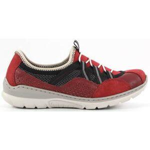 Rieker Promenadskor L3256-33 röd