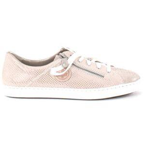 Rieker Sneakers L0943-62 beige