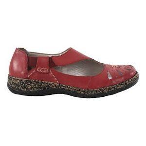 Rieker Promenadskor 46315-33 röd