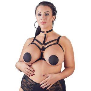 Cottelli Curves Harness Dekorativ Brystsele L/xl
