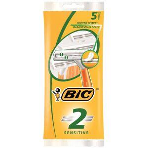 BIC 2 SENS 5-Pack - Barberhøvler