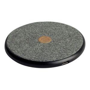 Krusell Tanum - Trådløs ladematte - 10 watt - Fast Charge - lysegrå