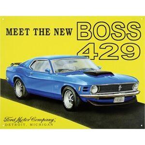 Boss Blikkskilt/Ford Mustang Boss, Universal