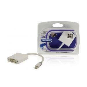 Bandridge Mini Displayport -Kabel Mini DisplayPort Han - DVI-I 24+5 display tapp