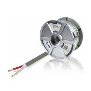 Bandridge Speaker Kabel på Snelle 2x 1.50 mm² 75.0 m Grå, LC1168 TILBUD NU