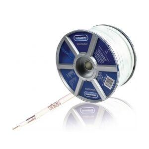 Bandridge Tale Kabel på Snelle Rund 6.5 mm 100 m Hvit, LC5509 round cable hvit