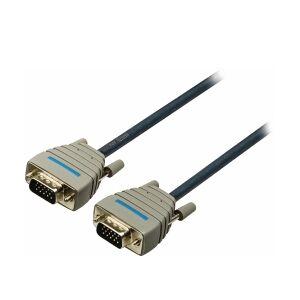 Bandridge VGA-Kabel VGA Han - VGA Han 5.00 m Blå, BCL1105 TILBUD NU