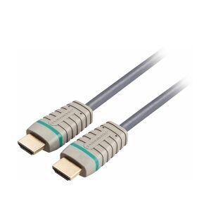 Bandridge High Speed HDMI-Kabel med Ethernet HDMI Kontakt -  hastighet kontakten