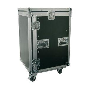 """PD-F16U8 19"""" Rackcase 16U with Wheels TILBUD racksak quot hjul rack case med sak"""