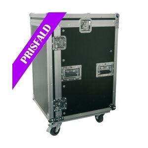 """PD-F12U8 19"""" Rackcase 12U with Wheels TILBUD racksak quot hjul rack case med sak"""