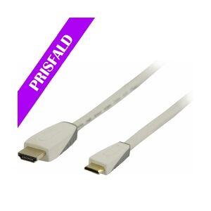 Bandridge High Speed HDMI-Kabel med Ethernet HDMI Kontak høyhastighets hastighet