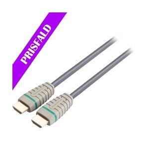 Bandridge High Speed HDMI-Kabel med Ethernet HDMI Kontakt - HD hastighet kontakt