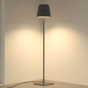Lampenwelt.com Terrasselampe Andrei med mørkegrå skjerm