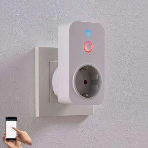 Lampenwelt.com Lindby Smart WiFi-stikkontakt, app-drevet